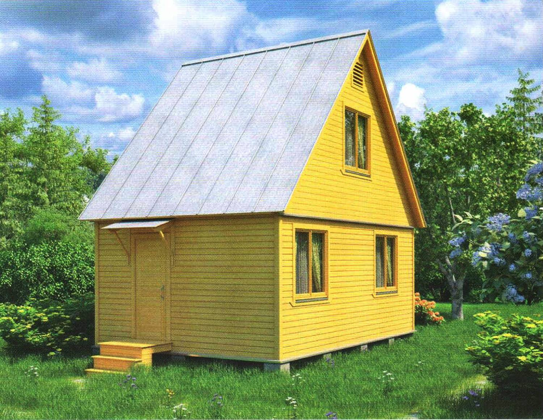 Дачный домик с нуля