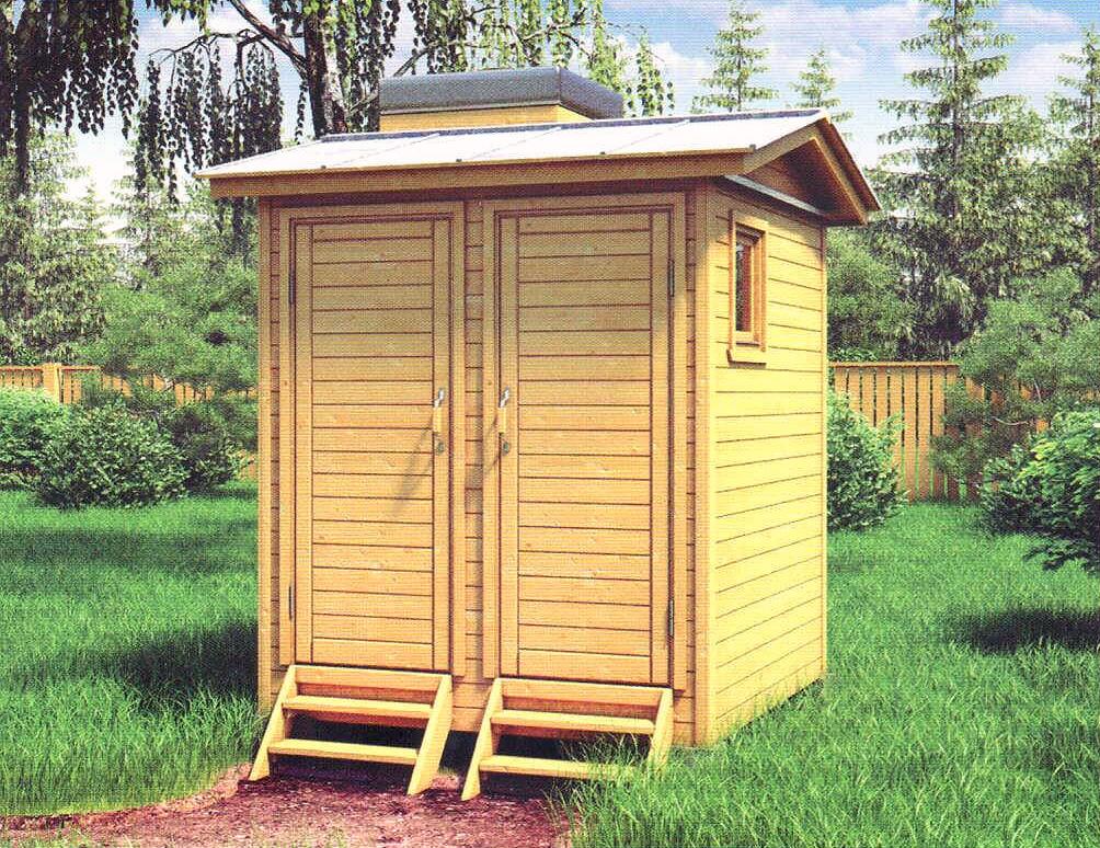 Летний туалет и душ на даче фото и размеры